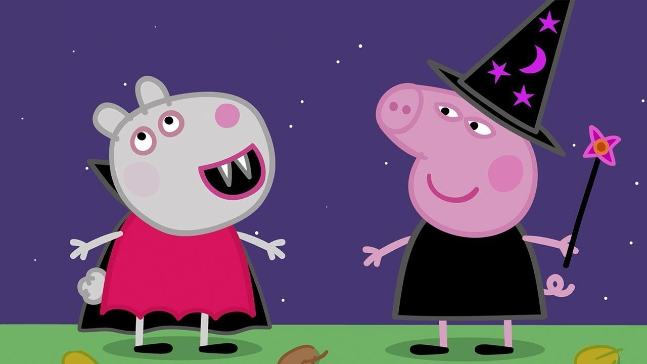 Peppa Pig Episodes Halloween Party Cartoons For Children