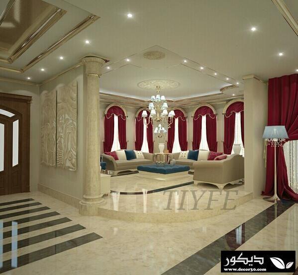 ديكورات مميزة وجديدة لتصاميم ديكورات المنازل Holiday Room Classic Dining Room Modern Curtains