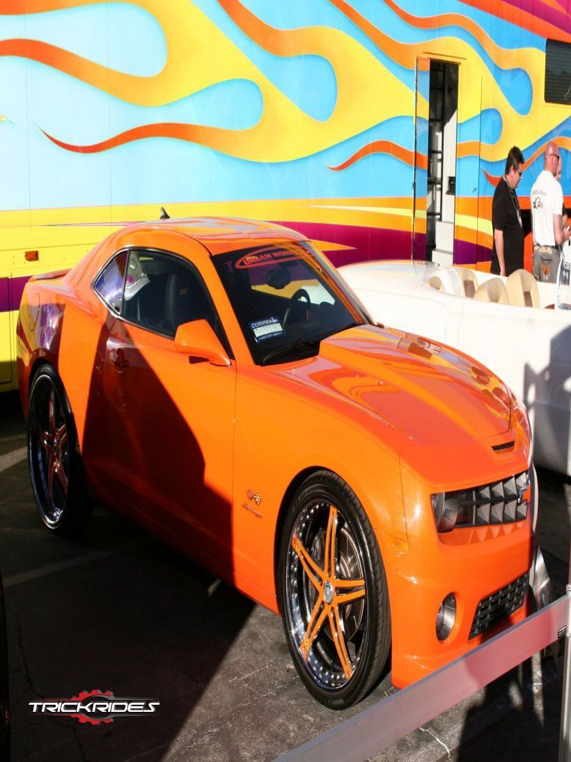 Chevrolet Camaro by PPG at SEMA trickrides sema