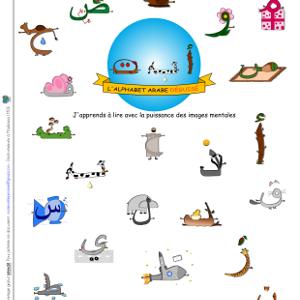alphabet arabe déguise 1