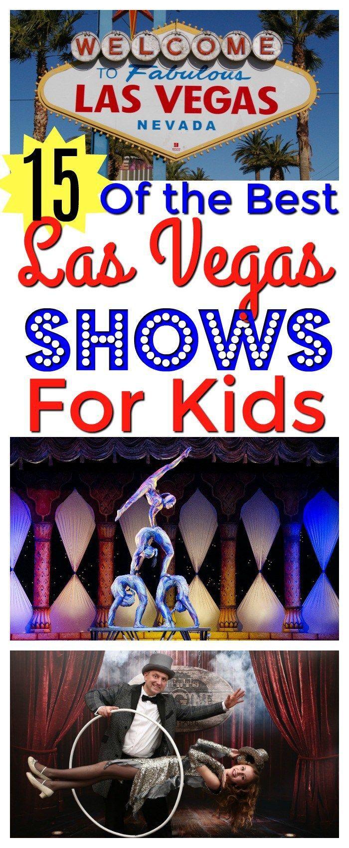 15 Of The BEST Las Vegas Shows
