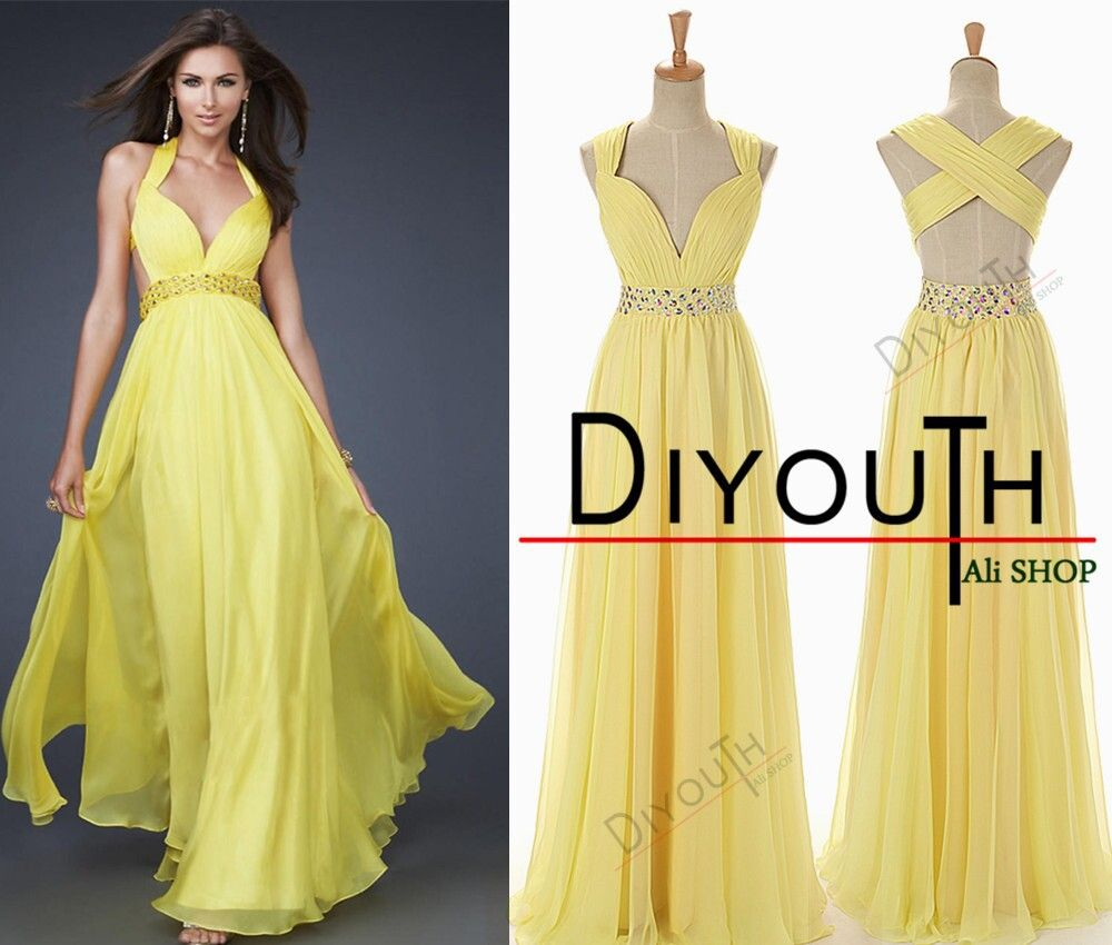 Find more prom dresses information about gorgeous halter