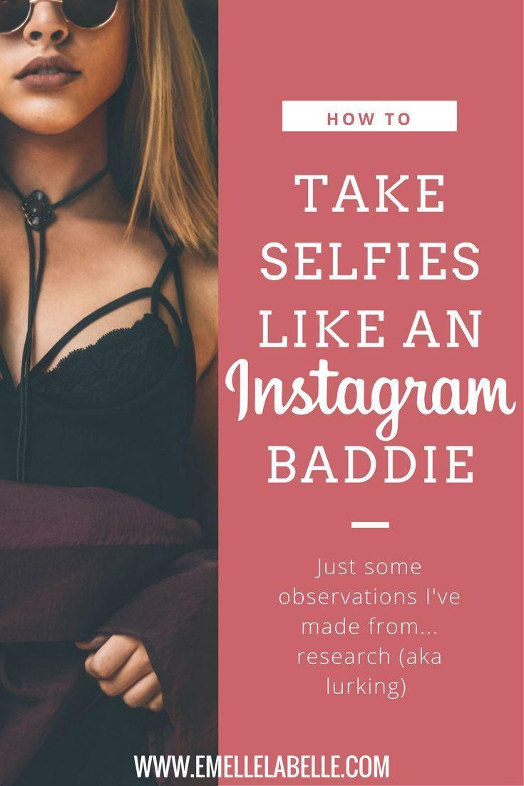 Secrets To Looking Like An Ig Baddie Mary Teaches Selfie Tips Instagram Models Instagram Famous