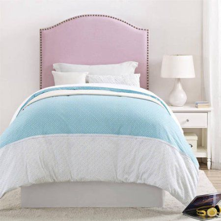 Better Homes and Gardens Grayson Linen Upholstered Headboard with ...