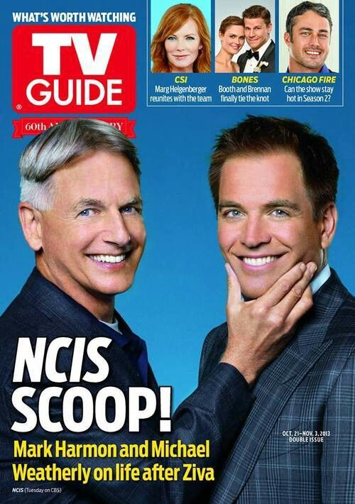 Mark a Michael na obálce TV Guide, říjen/listopad 2013