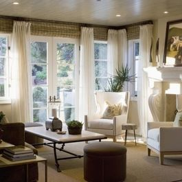 Window treatment ideas for large windows design ideas - Living room window treatments for large windows ...