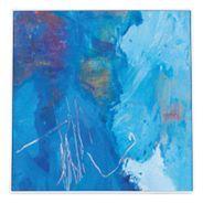 Into The Deep Framed Canvas Print