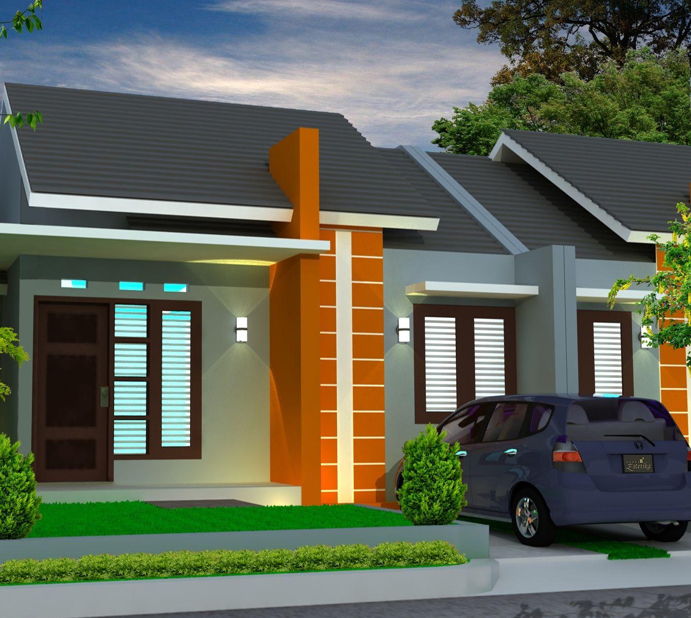 Model Desain Rumah Minimalis Terbaru Design House Pinterest