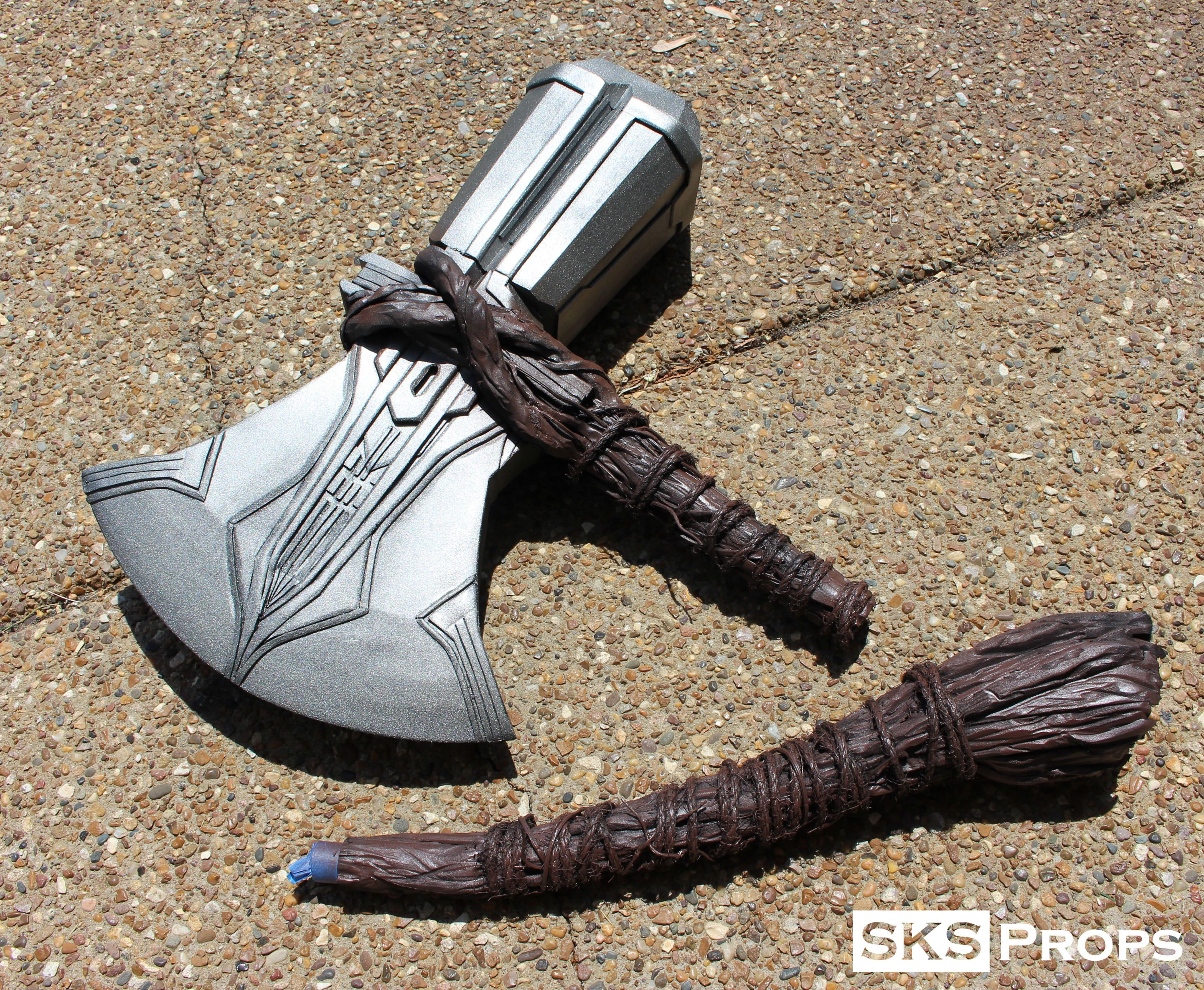 Thor's Stormbreaker Cosplay Weapon - SKS Props,#Cosplay