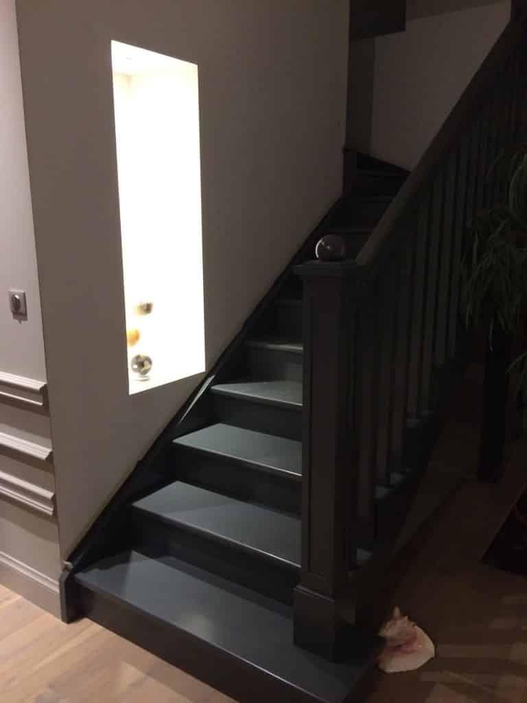 Peindre Un Escalier Escalier Peint Escalier Blanc Escalier Bois