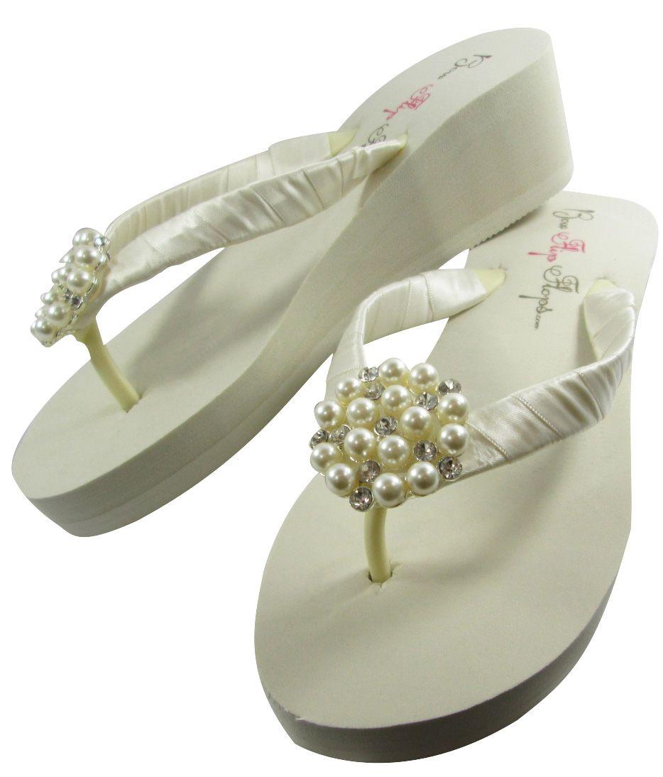 f4a5bdb08 Bridal Flip Flops