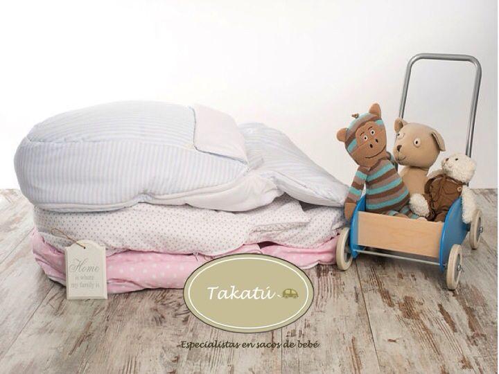 Sacos de dormir Takatú en www.miramami.com