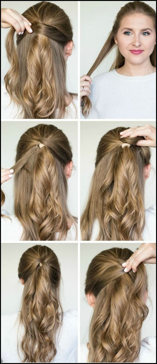 10+ Easy DIY Tutorials For Glamorous and Cute Hairstyle  Easy