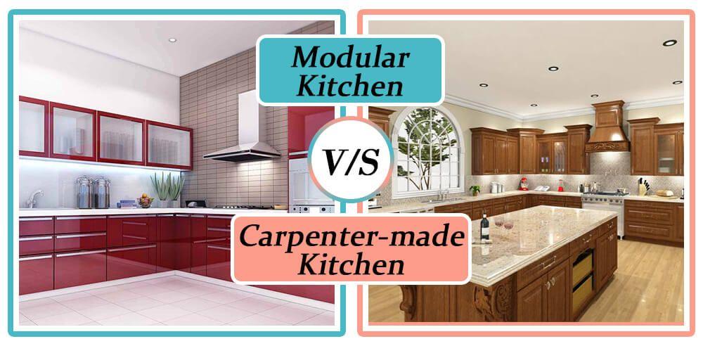 Modular Kitchen Vs Carpenter Made Woodworking Furniture Plans Kitchen Redo Kitchen