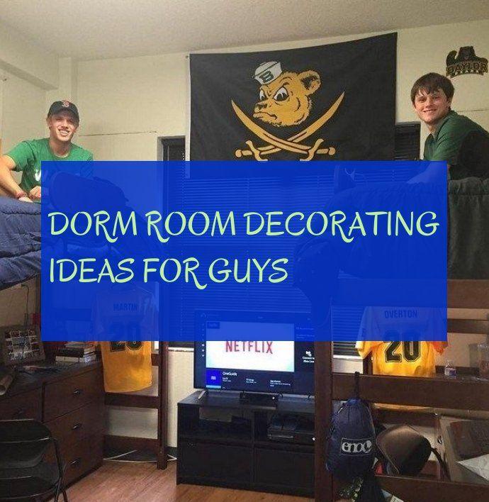 dorm room decorating ideas for guys ~ dortoir des idées de décoration pour les gars ~ #dorm #room #decorating #ideas #guys #dormroomideasforguys
