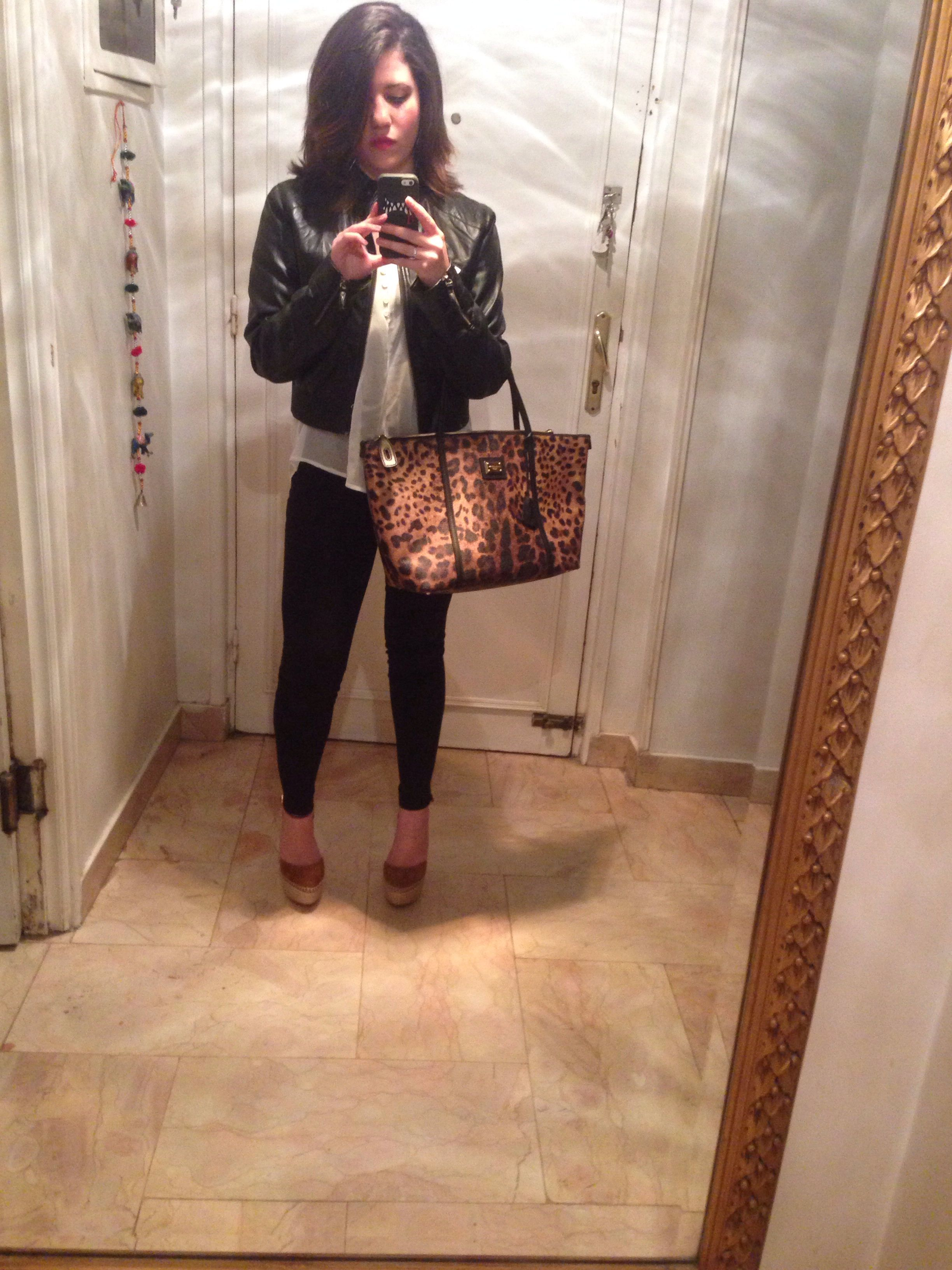 The Leopard bag