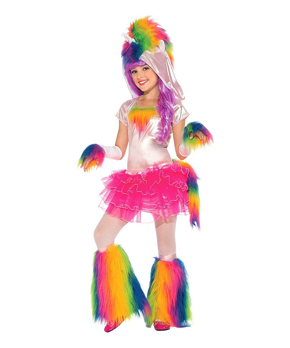 46274891bf6c Pink Rainbow Unicorn Dress-Up Set - Girls | Products | Unicorn ...
