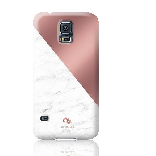 watch b7be4 8db64 Rose Gold & Marble Phone Case - Samsung Galaxy S5 in 2019 | Samsung ...