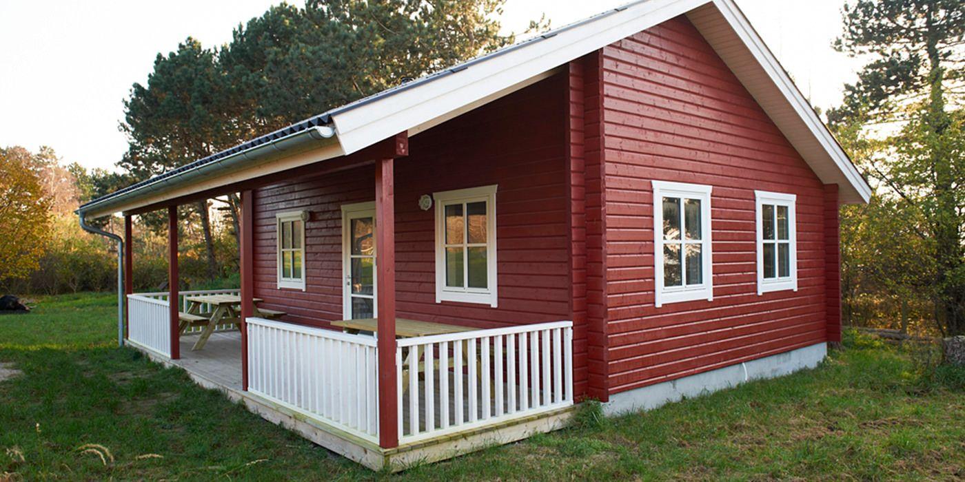 Folkesommerhuset Holzhaus Bausatz Bauplan Haus Kleines Haus Loft
