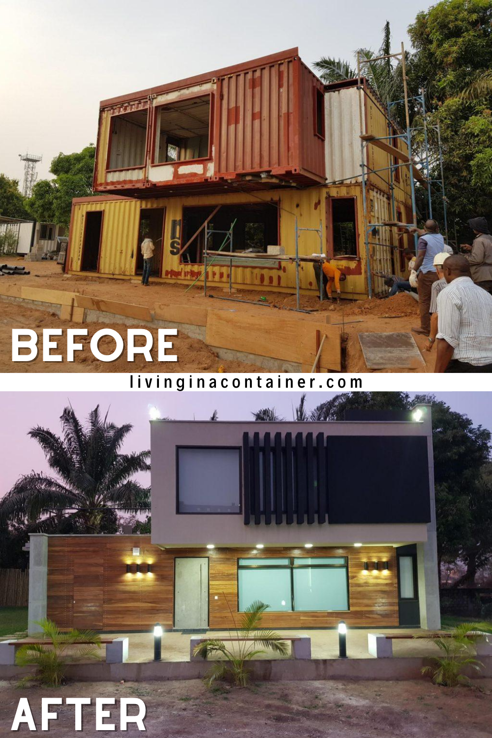 Shipping Container Home in Nigeria