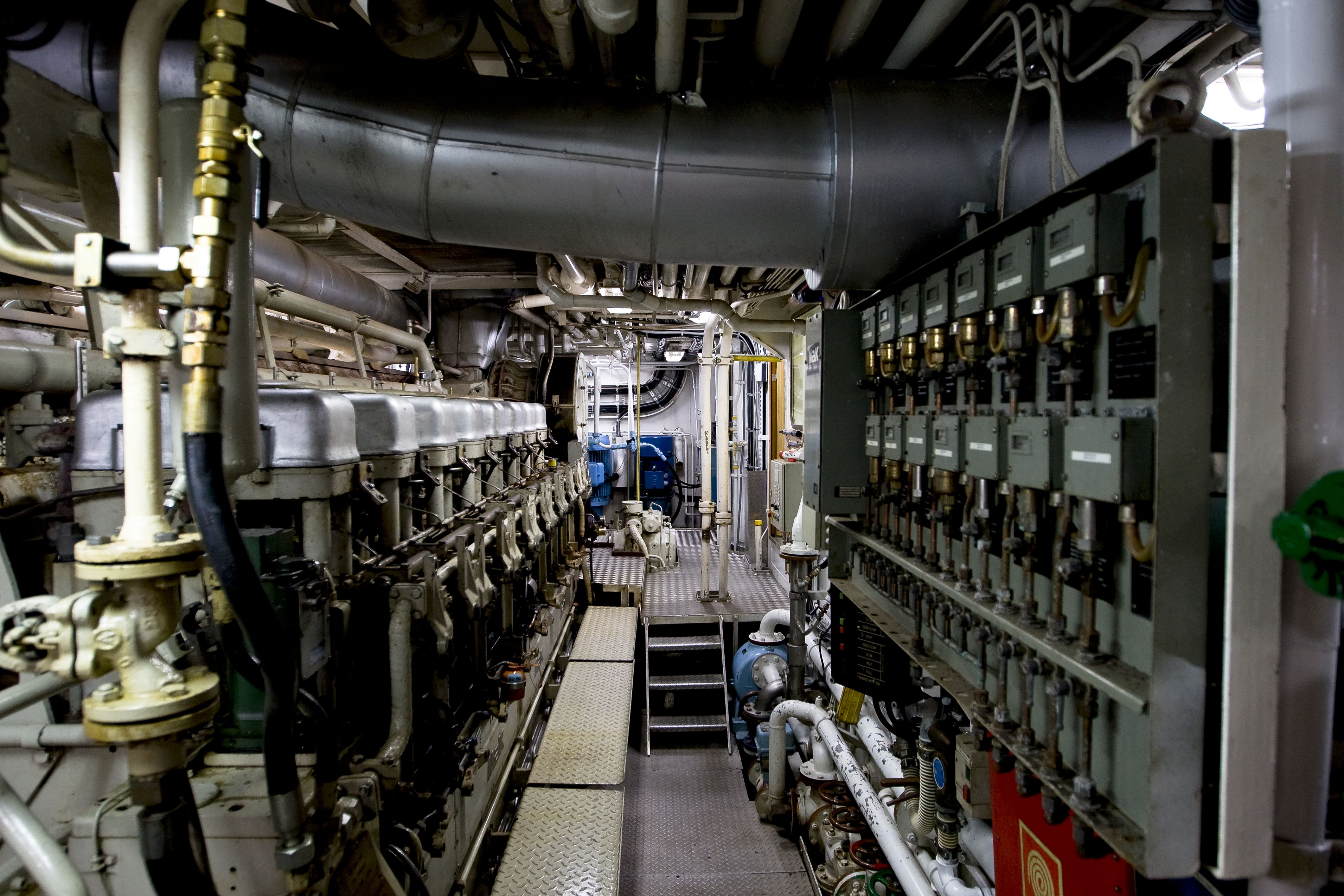 cruise ship engine room tour  Google Search  Ship Engine