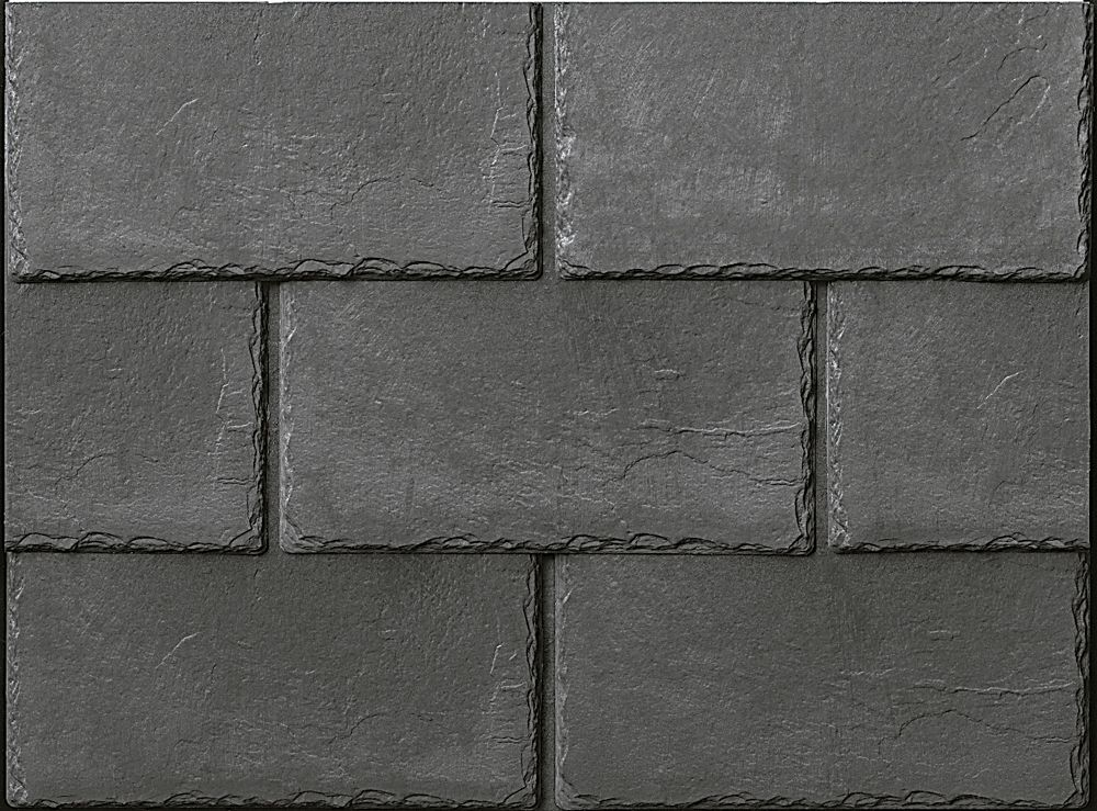 Inspire Synthetic Slate Shingles Cool Roofing Graphite Roofing Slate Shingles Cool Roof