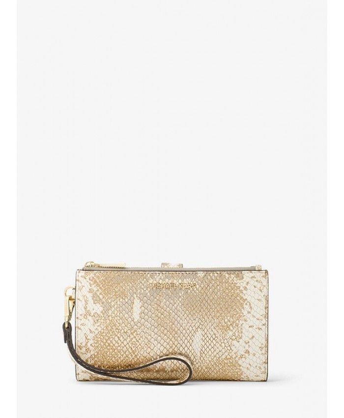 de584486c6bb MICHAEL Michael Kors Mott Pebbled Leather Dome Crossbody in 2019 | my  sample - followed | Pinterest | Wallet, Michael kors wallet and Continental  wallet