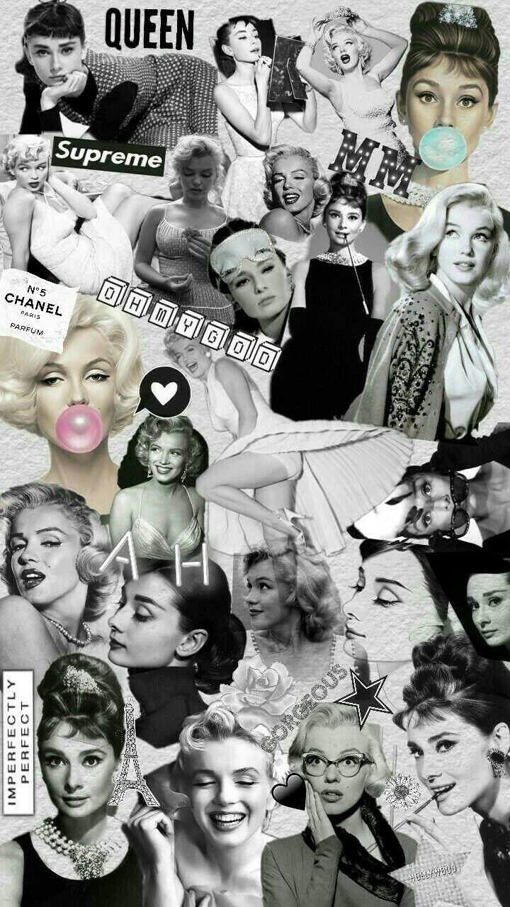Made By Me Marilyn Monroe And Audrey Hepburn Follow My Ig Esther31199 Marilyn Monroe Artwork Marilyn Monroe Wallpaper Marilyn Monroe And Audrey Hepburn