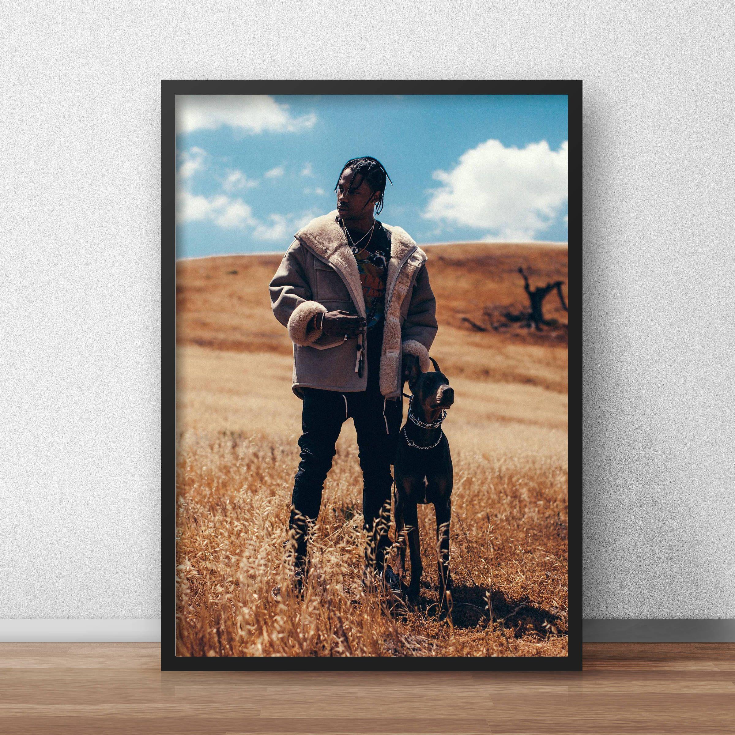 hip hop poster travis scott print
