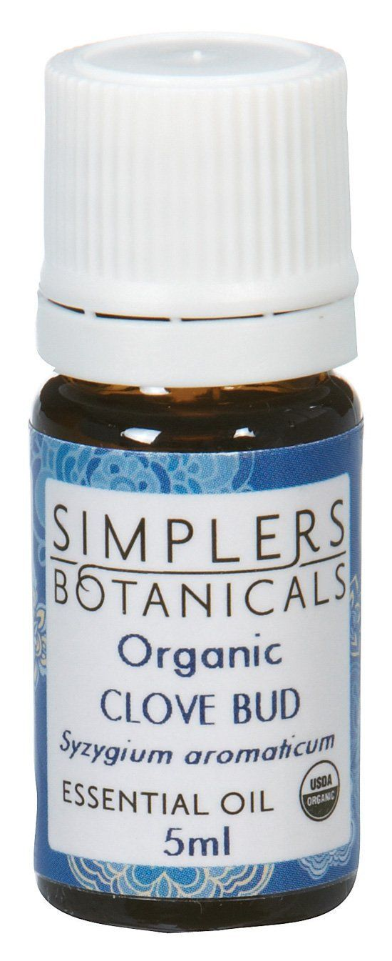 Simplers Botanical Company - Clove Bud Essential Oil, 5 Milliliter liquid *** Quickly view this special  product, click the image : aromatherapy essential oils