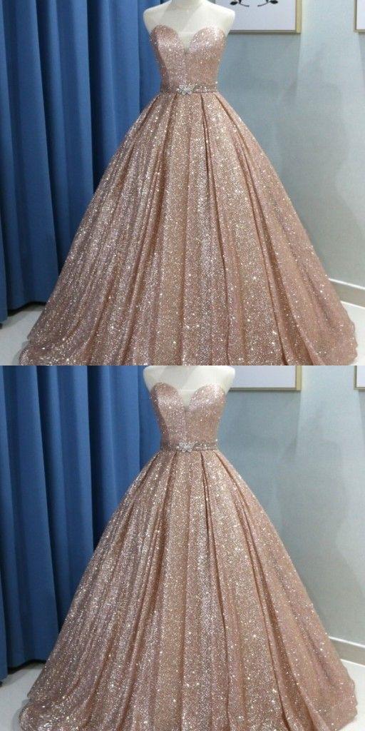 Fashion Abendkleider Mit Glitzer | Prinzessin Abendmoden ...