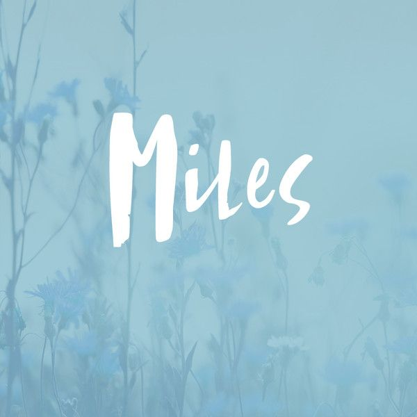 Miles Baby Names For BoysKid
