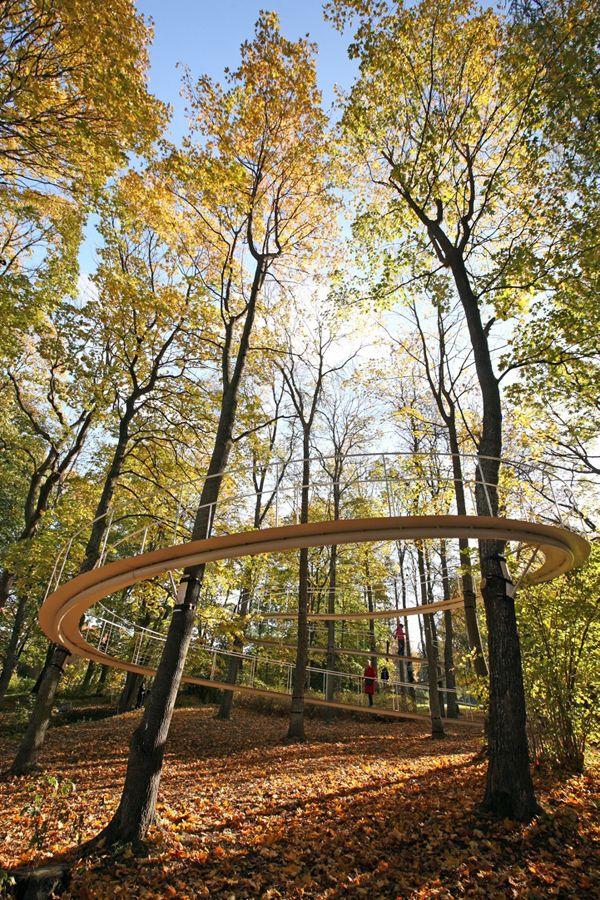Arc Moderne The Forest : moderne, forest, Tallinn,, Estonia, Landscape, Architecture,, Design,