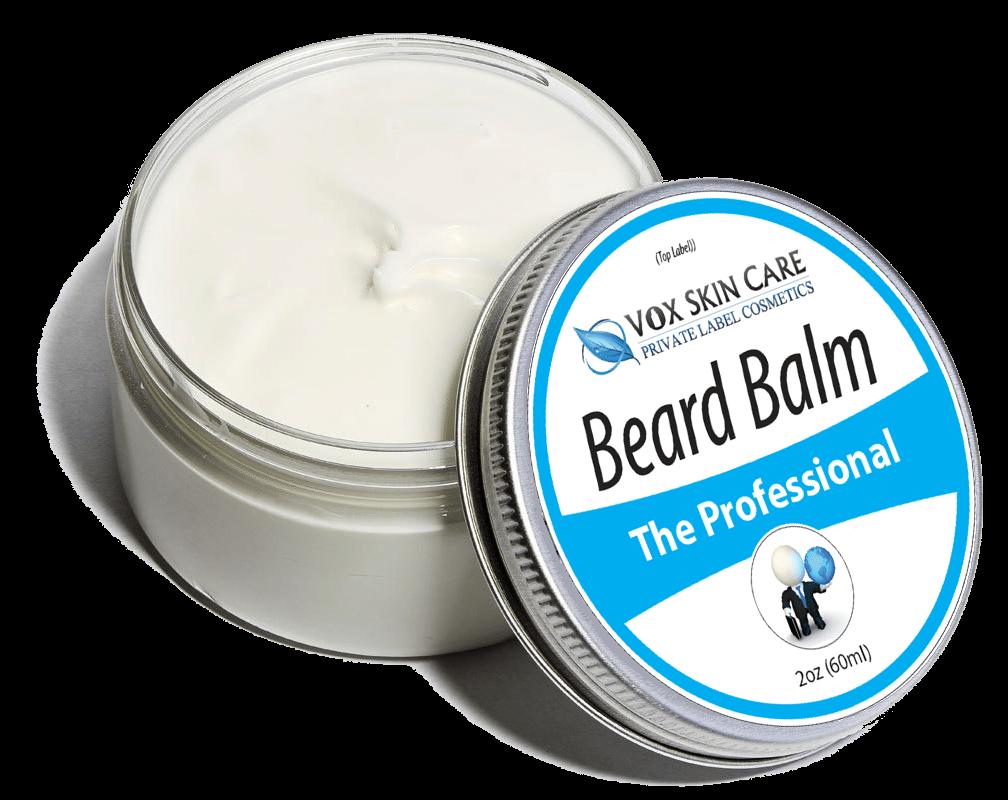 Private Label Beard Balm Hair & Skin Care Product Beard
