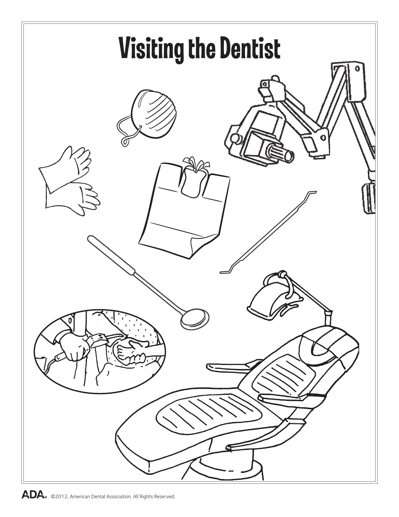 This is a photo of Trust Dental Activity Sheets