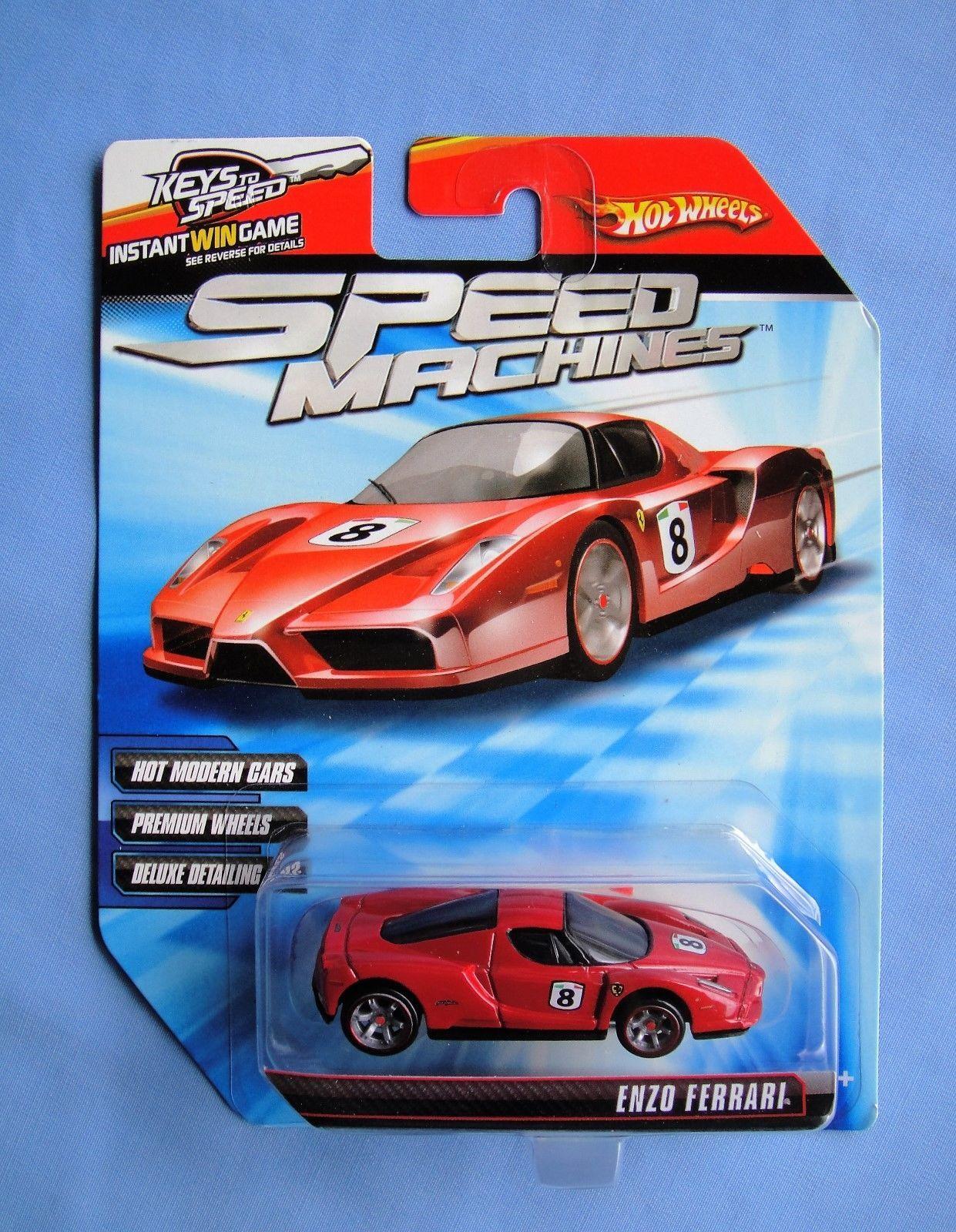 2009 Hot Wheels Speed Machines Enzo Ferrari Red Ebay With