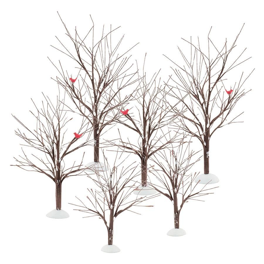 Village Accessories Bare Branch Tree 56 52623 Department 56 Official Site Christmas Village Sets Winter Trees Department 56