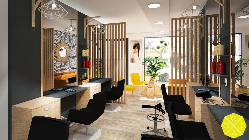 Amenagement D Un Salon De Coiffure L Oreal Renovation Amenagement Decoration Profession Salon De Coiffure Interieur De Salon Deco Salon De Coiffure