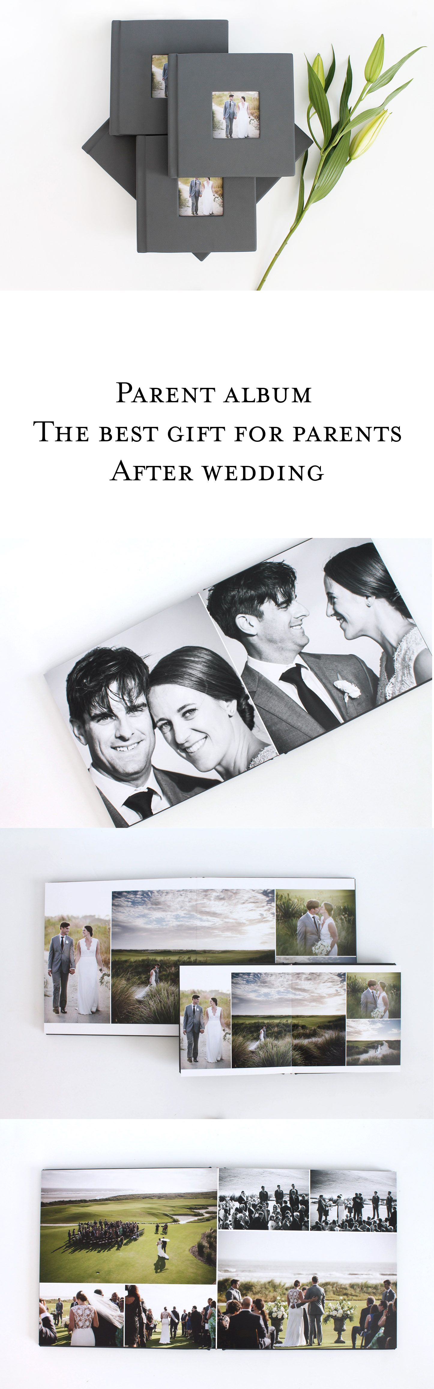 Parent Albums Perfect Gift For Parents Of Newlyweds Good Gifts For Parents Wedding Album Flush Mount Album