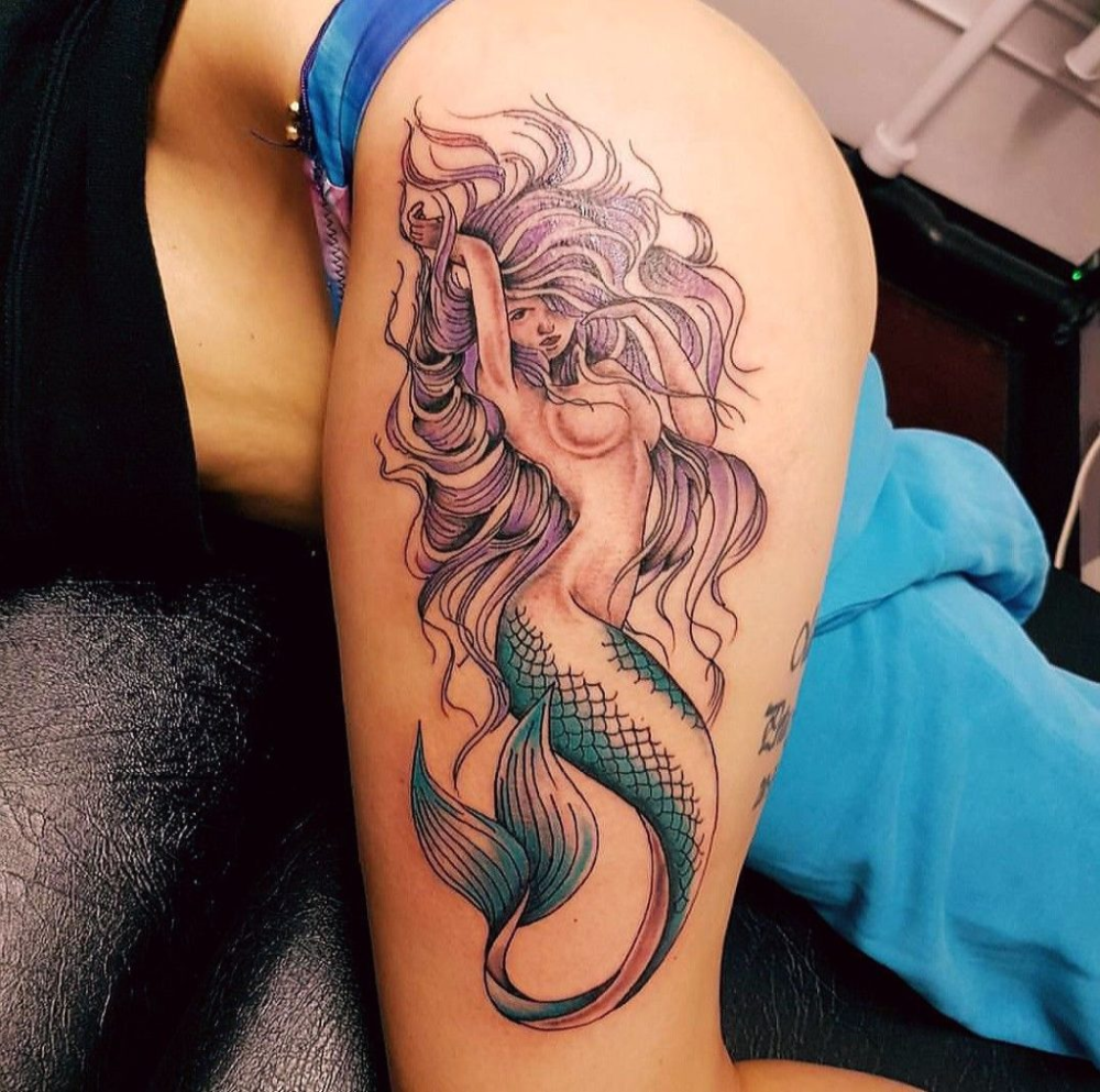 Photo of 70+ Beautiful Thigh Tattoos for Women Designs