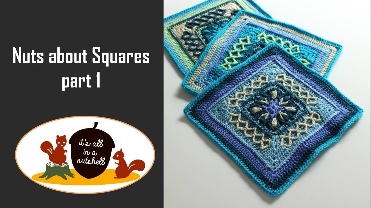 Nuts about Squares CAL Week 1