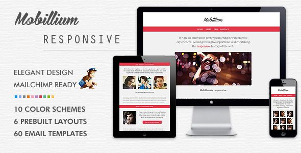 Sexy Responsive Email Newsletter Templates You Can Implement Today