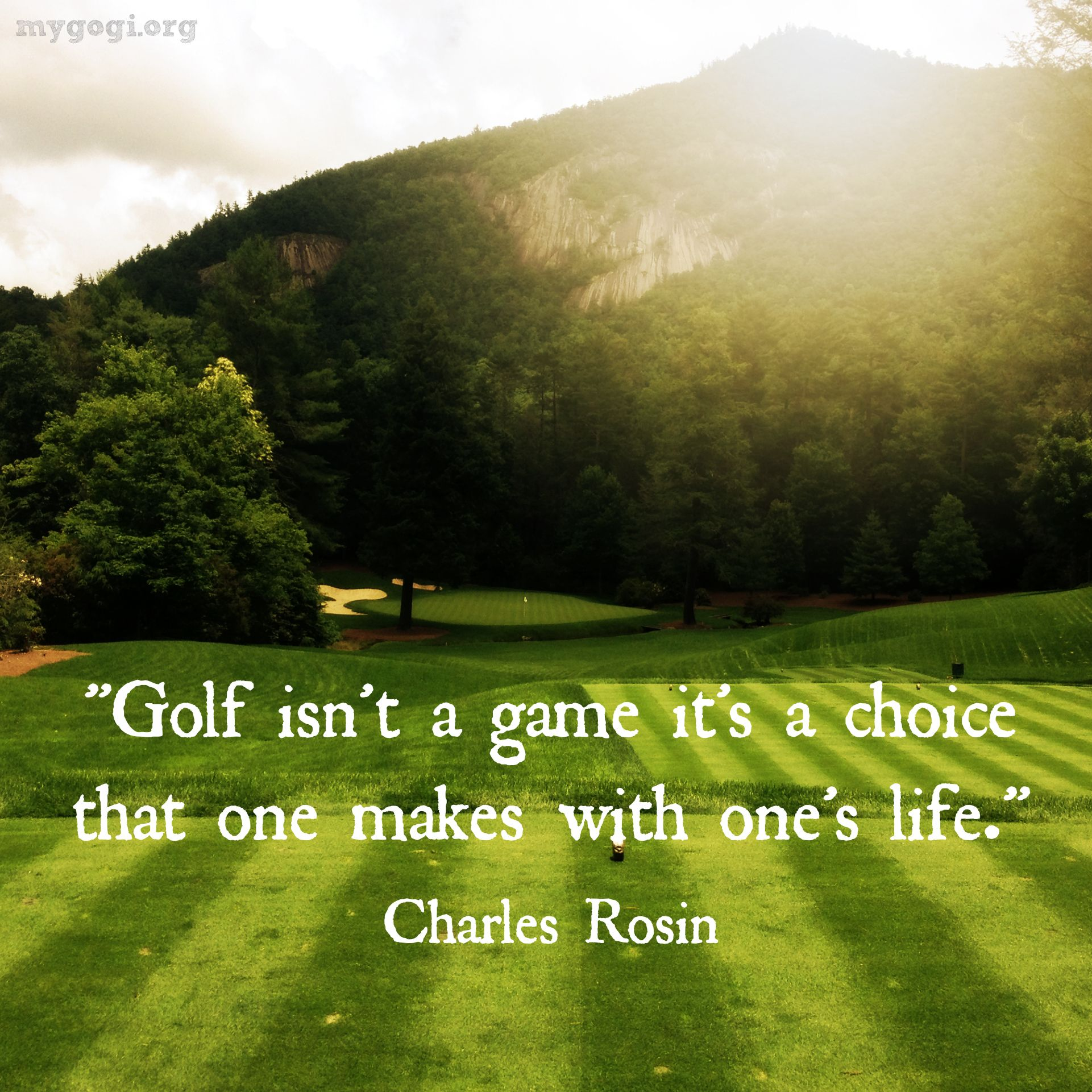 Golf And Life Quotes Wade Hampton Golf Club  Golf Is Life  Pinterest  Golf Quotes