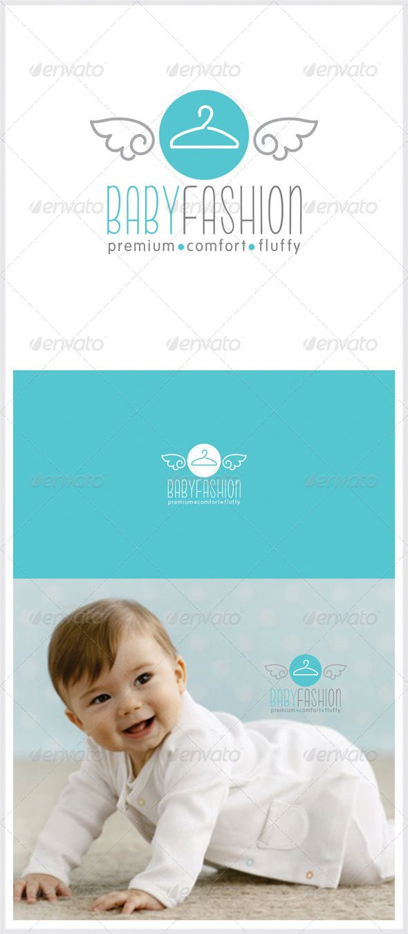 4aa4fc70b logo for baby clothing company available in vector EPS
