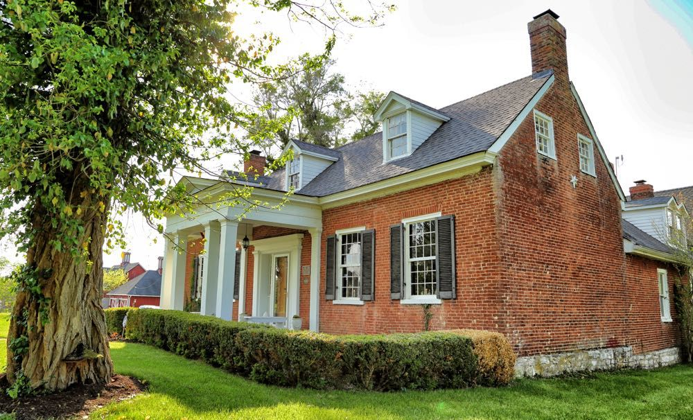Nathaniel Burrus House in Mercer County, Kentucky