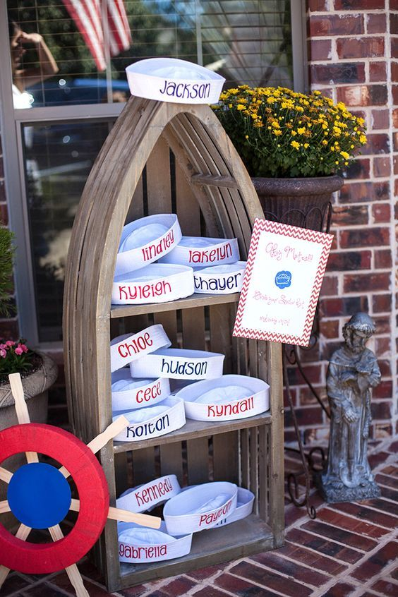 Nautical Party For A First Birthday Sailor Birthday