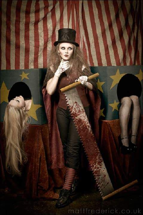 Circus Freak Show Costumes | The Steampunk Circus ...