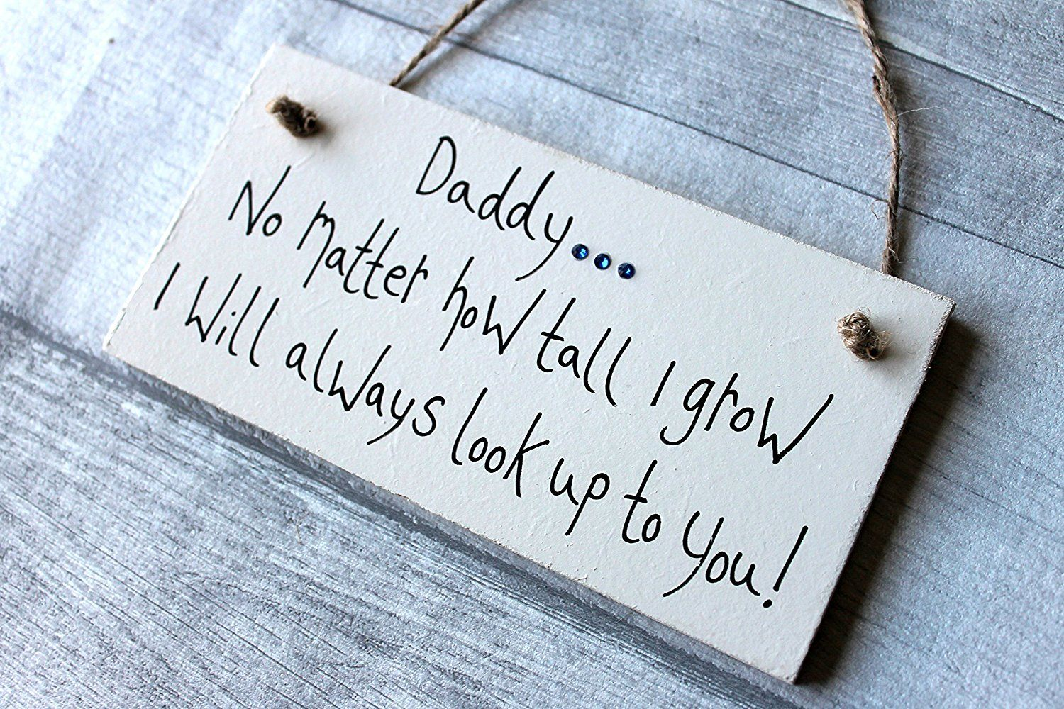 MadeAt94 Daddy Gifts Plaque Birthday Father's Day No
