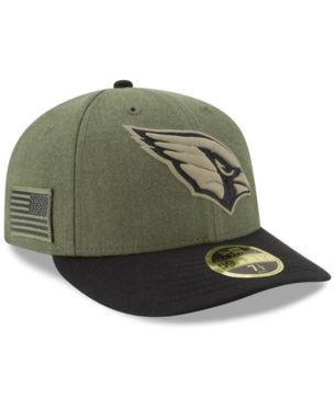 best sneakers 04388 36fbe New Era Arizona Cardinals Salute To Service Low Profile 59FIFTY Fitted Cap  2018 - Green 6 7 8