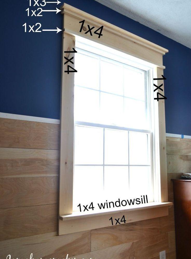Farmhouse Window Trim   Pinterest   Wände, Selber machen und Wohnen
